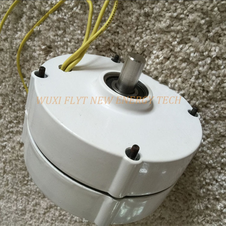 Alternador generador de imán permanente de CA, 200W, 12v, alternador horizontal vertical...