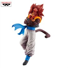 100% Original Banpresto Son Gokou fès!! vol.7 figurine de Collection-Super Saiyan 4 Gogeta de
