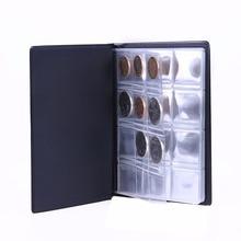 Pochettes de 120 pièces de monnaie   Mini livre de Collection dalbum, rangement de pièces de monnaie, pour Album, porte-monnaie de Collection, fournitures en cadeaux