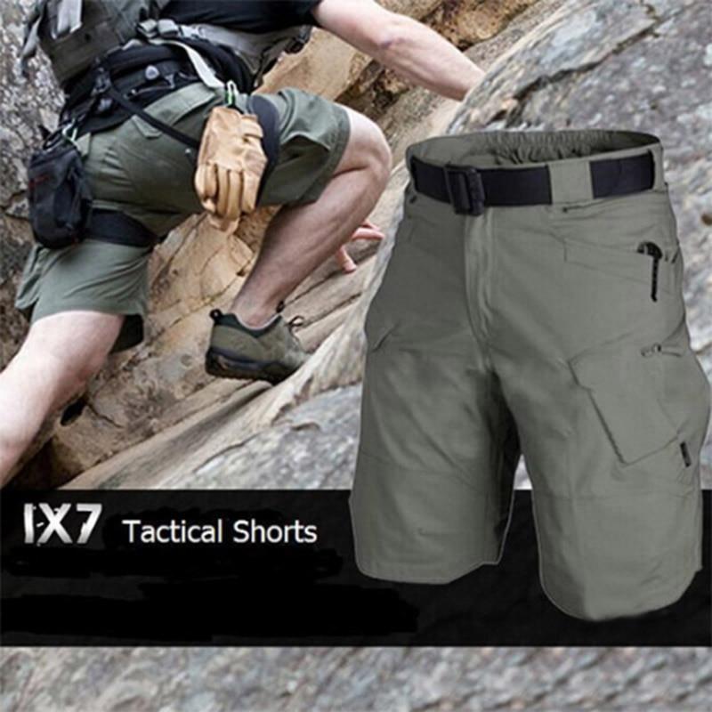 Summer Camouflage Loose Cargo Shorts Men Camo Summer Short Pants Homme Cargo Shorts