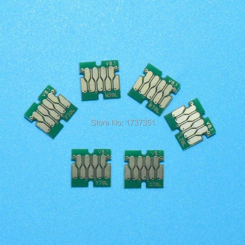 6 color t2421-t2426 auto chip reajuste para Epson Expression Photo xp-850 xp-750 xp-760 xp-860 xp-950 xp-960 cartucho y ciss