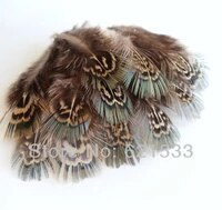200pcslot 1 5 2 5 4 7cm green almonds ringneck pheasant plumage for jewelry making millinery craftsfly fishing