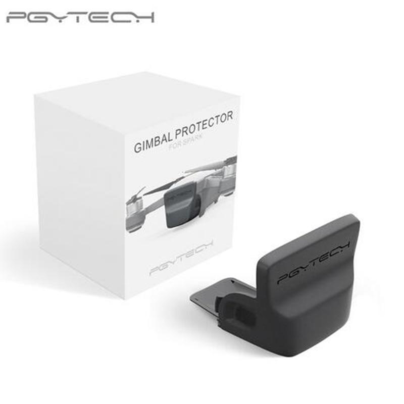 Cubierta PGYTECH cardán cámara frontal 3D Sensor Protector de pantalla montaje rápido a prueba de polvo para DJI Spark Drone Accesorios