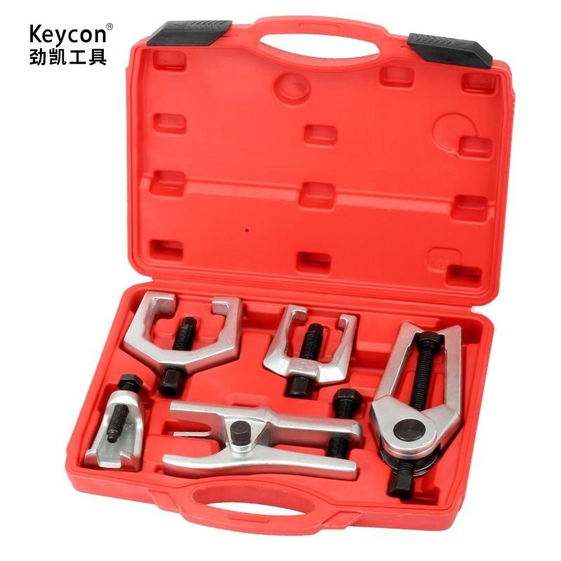 5 Pcs Universal Car Blind Hole Pilot Bearing Puller Internal Extractor Installation Removal Tool Kit Slide Hammer