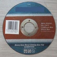 10 PCS/LOT 115x1x22.23mm Métal disque de coupe roues outils Abrasifs pour la coupe des barres darmature, fer et steel.4.5