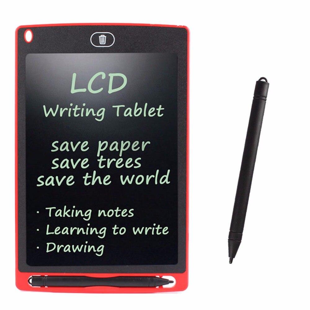 """Nueva tableta de dibujo portátil de 8,5 """"LCD, tablero de mensajes de notas sin papel + lápiz óptico #248499"""