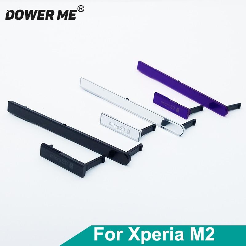 Usb-порт для зарядки Dower Me + sim-карта + слот для Micro SD Jack для Sony Xperia M2 S50H Dual D2303 D2305
