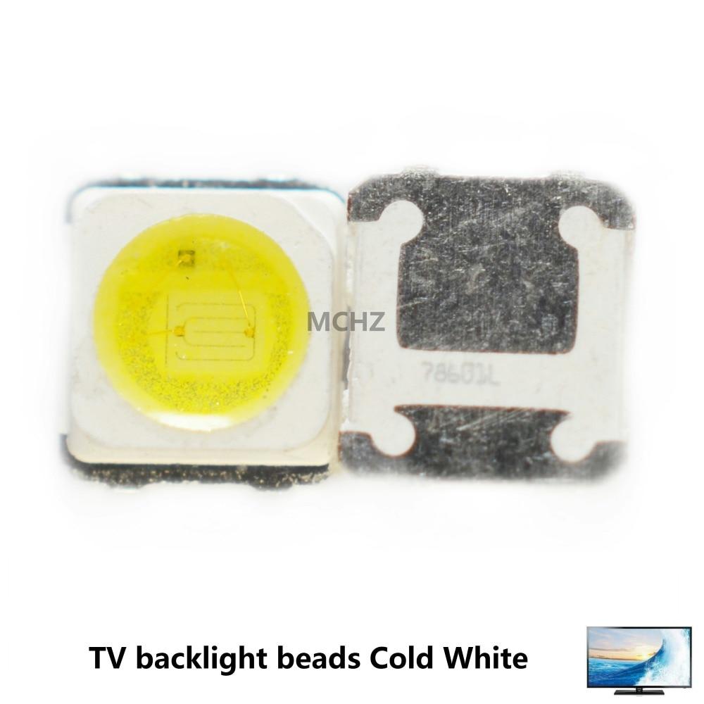 4000PCS Samsung 3228 2828 LED SMD TV Backlight 3V 1.5W 500ma LED Beads Cool White For Samsung SPBWH1320S1EVC1B1B Free Shipping