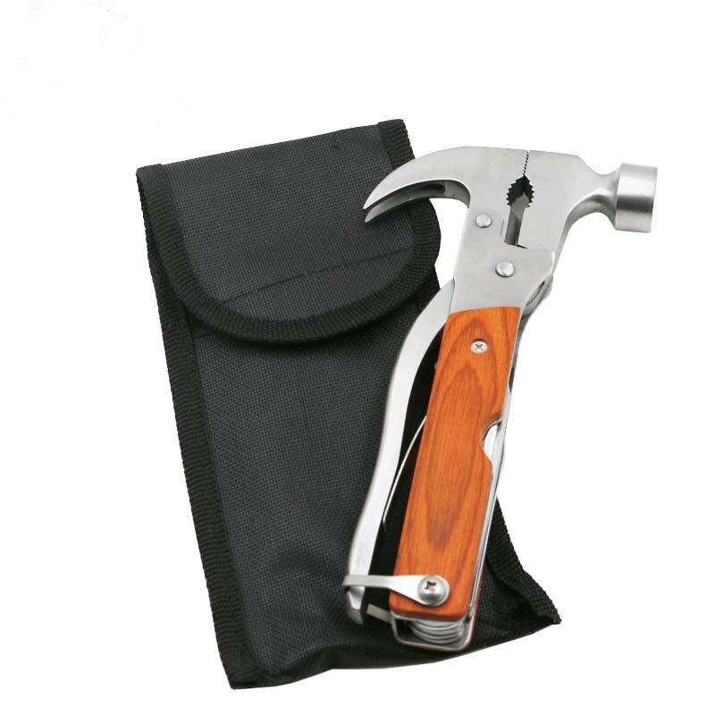 1 Uds. Dispositivo de Escape multifunción para vehículos martillo de seguridad martillo para ventanas Escape material de seguridad para vehículos