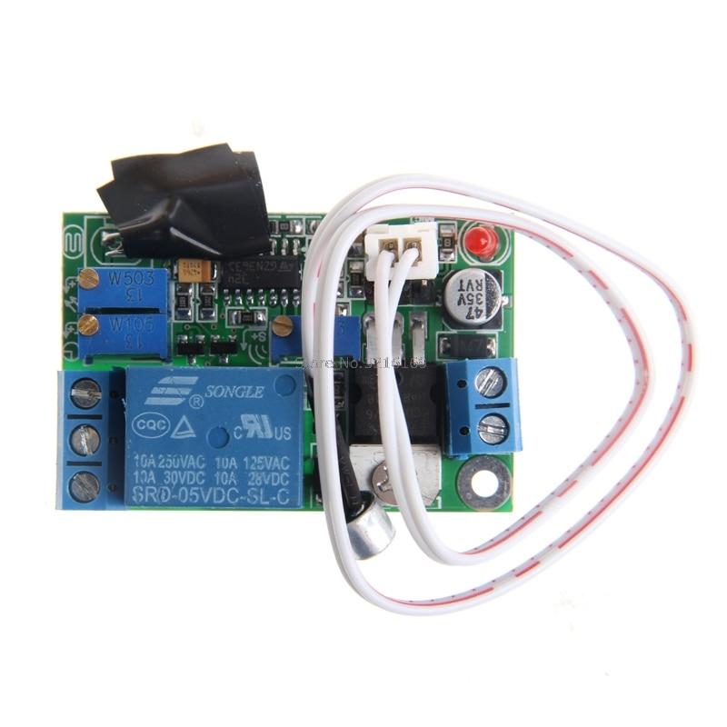 Para Módulo de Control de luz y sonido relé interruptor retardo Sensor ajustable 5 V 12 V 24 V promoción