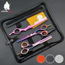 Ensemble de ciseaux pour coiffeur 30%-5.5 pouces, HT9116, ciseaux de coupe de cheveux japonais, pince de coiffeur
