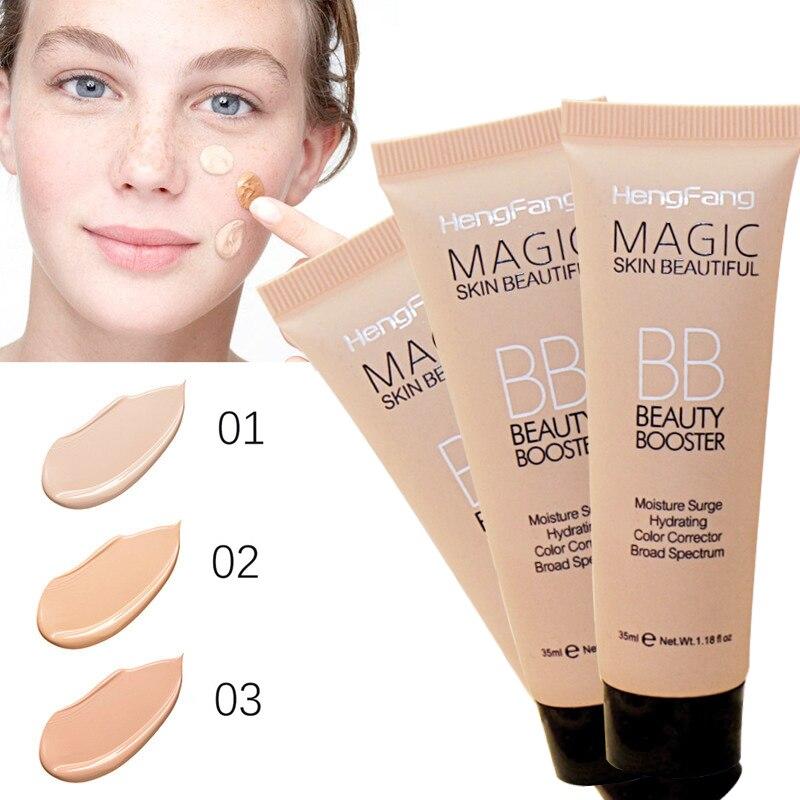HengFang Foundation Make-Up Creme Concealer Basis BB CC Creme Poren Abdeckung Bleaching Gesicht Erhellen Primer Kosmetik