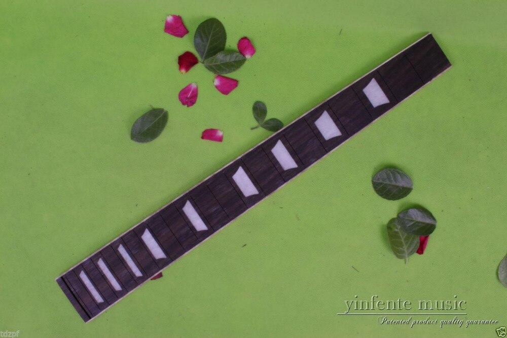 """1 pcs guitarra elétrica Fretboard 22 traste madeira de rosa 24.75 """" Luthier abastecimento peças # 80"""