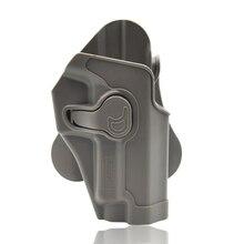 Amomax Einstellbare Tactical Holster für Tokyo Marui/WIR/KWA/ KJW P226 Serie Blaster-rechtshänder tan (nur mit taille platte)