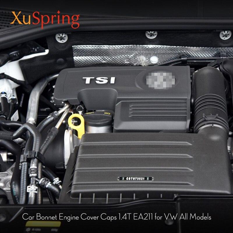 Для VW Шкода Октавия, Шкода Туран Tiguan Golf7 для Seat Leon MK3 1,4 T EA211 крышка двигателя крышка капота 04E103925H 04E103932D
