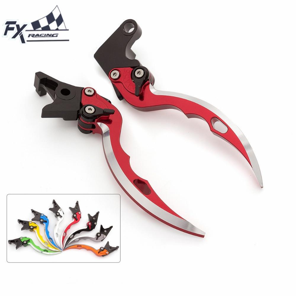 CNC Knife Blade Motorcycle Brake Clutch Levers Adjustable Brake Clutch For Honda XL1000 Varadero ABS 1999 - 2013 2000 2001 2002