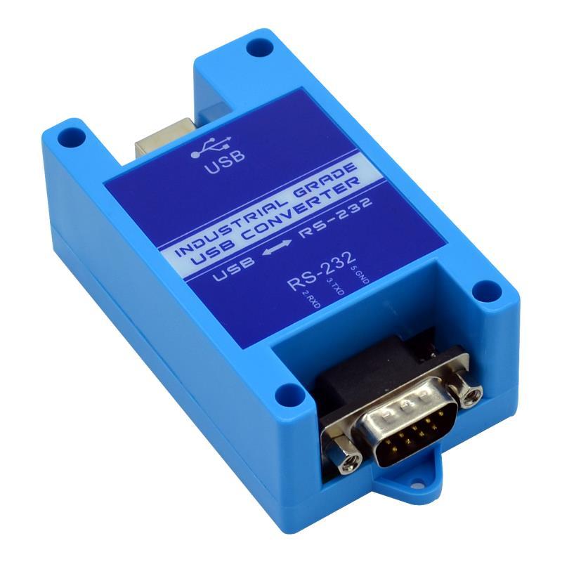 USB إلى 232 485 422 محول مسلسل صناعي 2 منافذ RS485 إلى USB حماية البرق WIN7/8/10