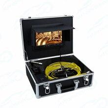 WP90 système dinspection vidéo dendoscope industriel   Caméra dinspection de tuyaux dégout, étanche IP68 30m 30M moniteur LCD 9 pouces