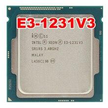 Intel XEON E3-1231V3 1231 V3 3.40GHz Quad-Core E3 1231V3 8 mo DD R3 DDR3L-1600 LGA 1150 TPD 80W 1 an de garantie