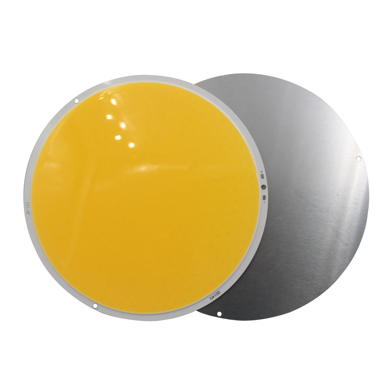 160mm 12V DC Round LED COB chip light source big sun 200W High Powr Warm White LED FLIP Chip For Car light cob led strip bulb