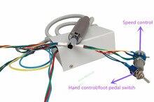 2016 cordon de Micro-moteur électrique sans balais intégré pour unité dentaire facile à installer NSK NLX NANO jet deau intérieur avec fibre optique