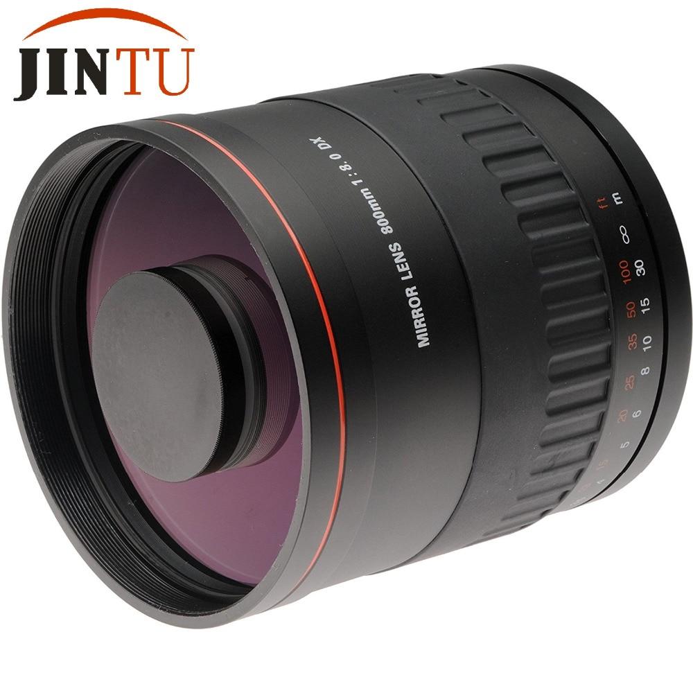 JINTU-lente de espejo de 900mm f/8 HD con Funda de cuero +...