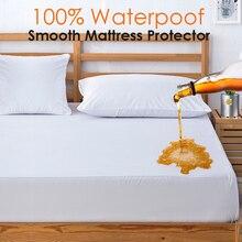 Protecteur de matelas imperméable classique   Polyester 100%, allergènes et bactéries, drap-housse, housse de matelas Colchao