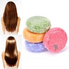 4 stijlen Handgemaakte Soaps Geurige Jasmijn Shiny Glad Haar Shampoo Zeep Reparatie Haar Diepe Voeden Haar Shampoo Zeep