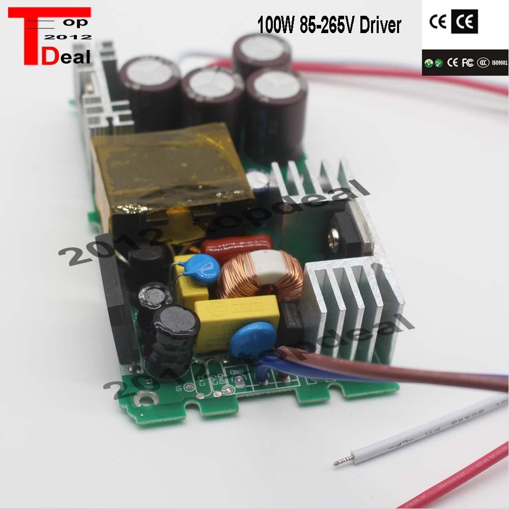 Led-treiber Lampe Licht Stromversorgung 3000ma 18-34 v 100 Watt Watt Beleuchtung Transformator CE