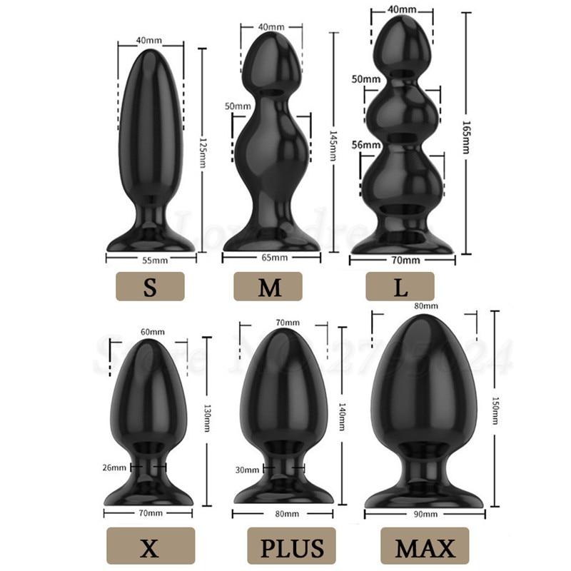 الجنس متجر حجم كبير الشرج التوسع محفز الخرز المكونات الشرج مثلي الجنس البروستات تدليك المثيرة اللعب الرجال امرأة المهبل دسار بعقب المكونات