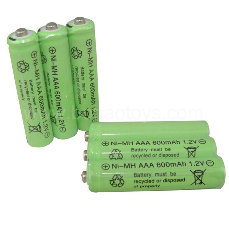 Аккумуляторная батарея Ni Cd для игрушек/фонарика/оборудования для дистанционного управления, 3 шт./партия, 1,2 В, 600 мА · ч