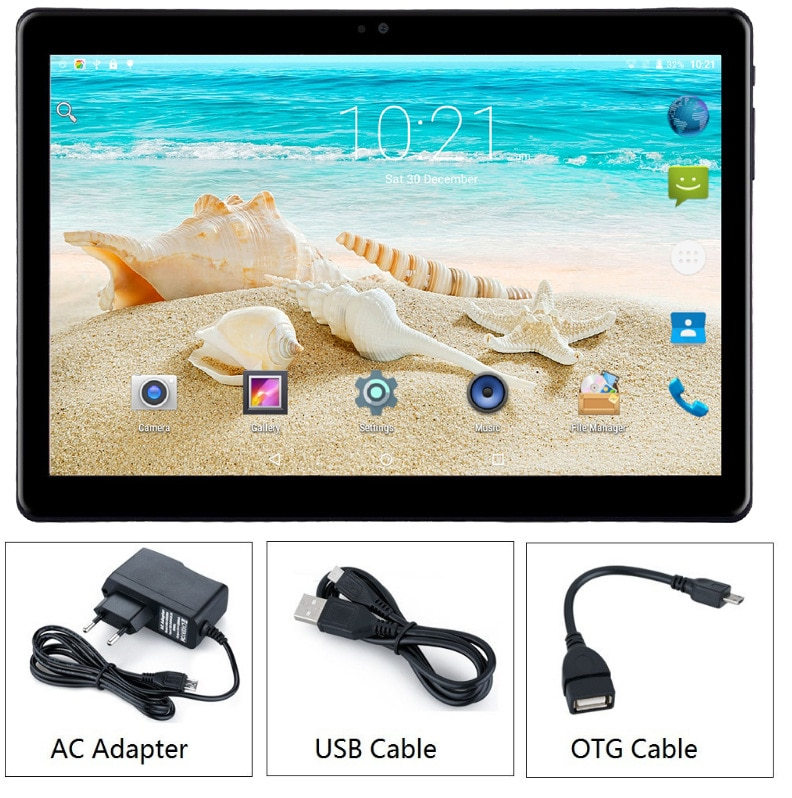 Venta al por mayor OEM 10 pulgadas Android 7,0 Octa Core PC 4G LTE 3G tableta teléfono móvil llamada