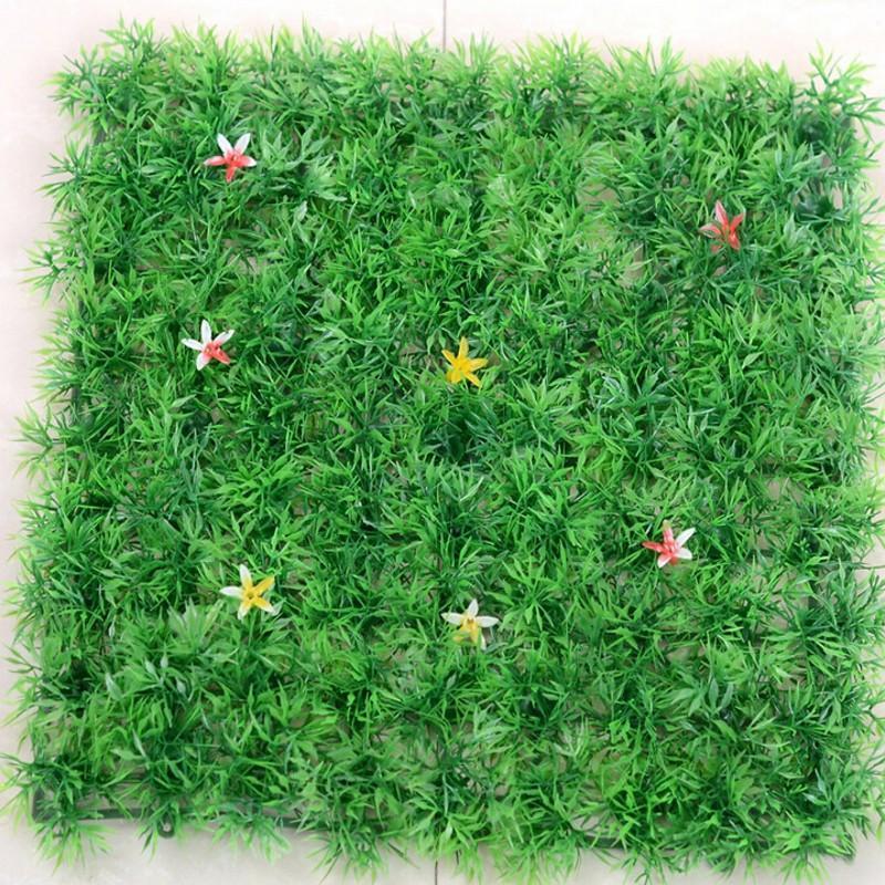 Simulação de Criptografia Tapete de Grama para Casa Decoração do Casamento da Flor da Estrela Gramado Plástico Artificial Jardim Frete Grátis