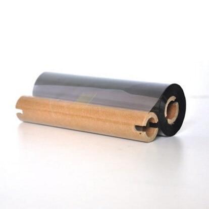 Смола черный тепловой Printe лента 110*90 м стикер передачи рулона бумаги для Q8 принтер этикеток печати теги клей