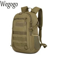 men canvas bag waterproof molle backpack military 3p school trekking ripstop woodland gear mens rucksack assault packsack