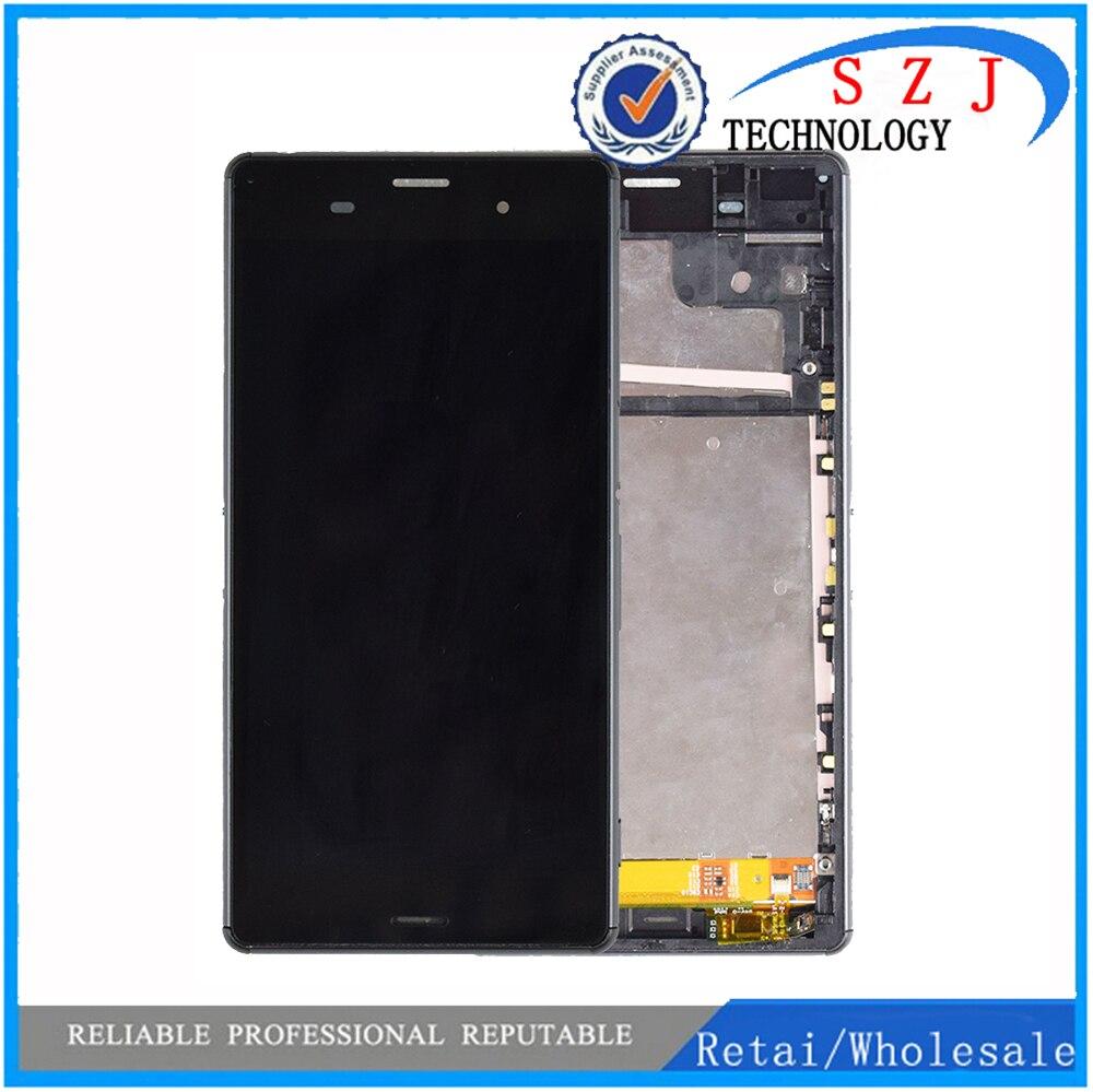 "Nuevo 5,2 ""para Sony Xperia Z3 LCD L55t D6603 D6653 pantalla LCD pantalla táctil digitalizador piezas de repuesto de pantalla para Sony z3"