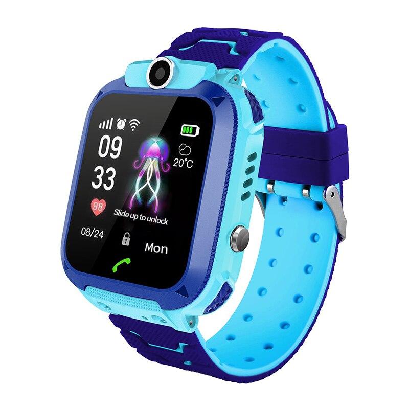 Q12 Kids GPS LBS Smart Watch For iOS Android Smartphone Waterproof IP67 Smart Watch Phone