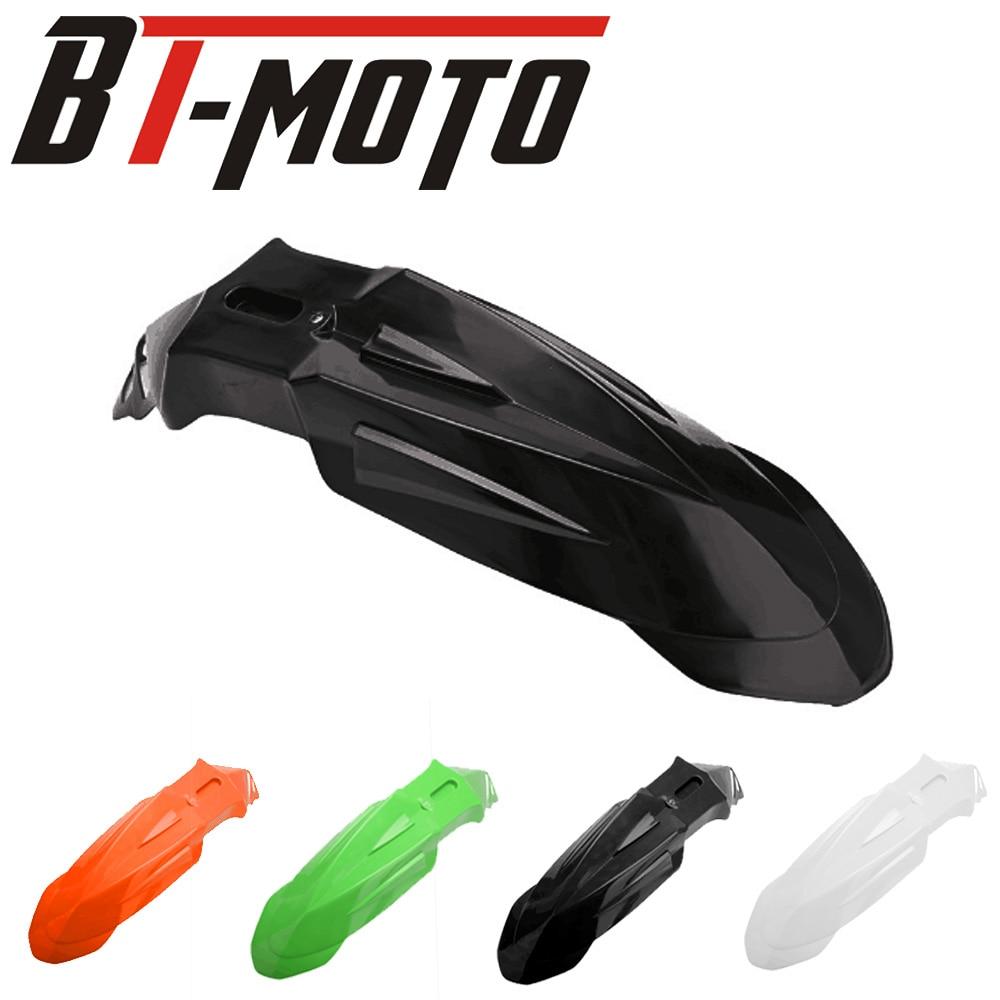 Guardabarros delantero de plástico de muchos colores Universal para MOTO KTM YZ WR XR CRF KLX KX RM RMZ DR DRZ 125 250 450