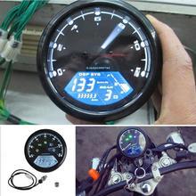 Tacómetro Digital LED para motocicleta, cuentakilómetros, velocímetro, medidor de aceite para accesorios de motocicleta multifunción de 1/2/4 cilindros