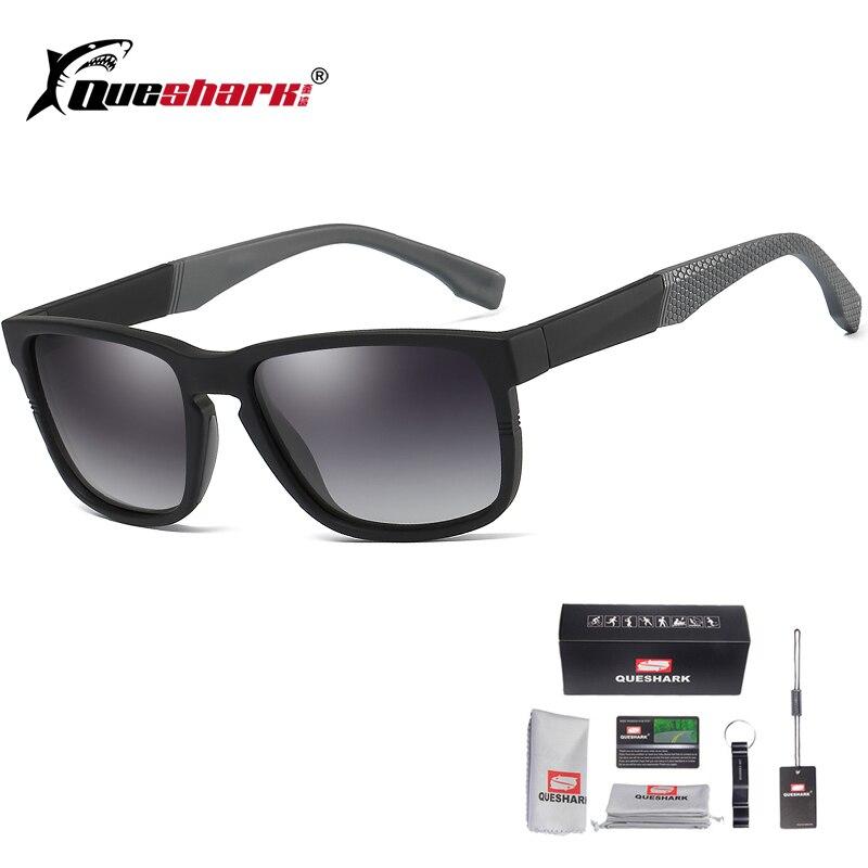 Queshark anteojos de sol para pescar polarizados UV400, gafas deportivas para hombre, gafas para ciclismo, ciclismo, senderismo, esquí, pesca, gafas