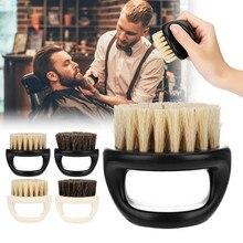 New Men's special Wild boar bristle beard brush Comb set Plastic beard comb beard care set Comb Beard tool brushes Hot Selling