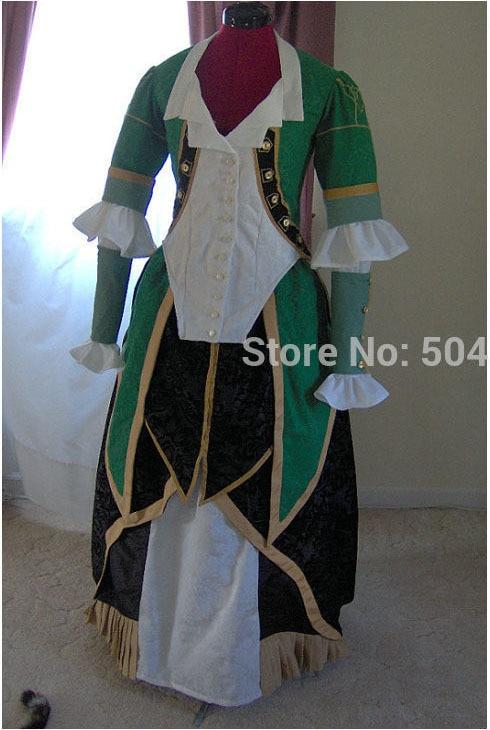 ¡Envío gratis! R-181 traje Vintage del siglo 19 1860S victoriano Lolita/Guerra Civil sureña Belle Ball vestidos de Halloween de todos los tamaños