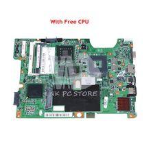NOKOTION 48.4I501.021 488338-001 Main Board For HP Compaq CQ60 G60 CQ70 G70 Laptop Motherboard PM45 DDR2 9200M Free CPU