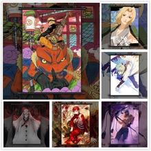 NARUTO simple Minato Naruto Kaguya Anime manga affiche murale défilement I