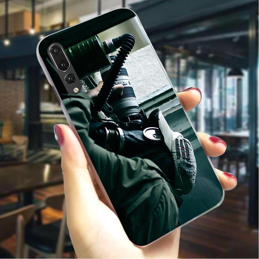 Funda dura Ghost Recon para Huawei P8 Lite 2015, funda moderna para Huawei P8 Lite 2017 P9 Lite 2016 P10 Lite, funda trasera