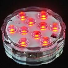 Lumières sous-marine à piles 4 pièces/lot   Éclairage marin, décoration de mariage, Mini, lumières de confortables