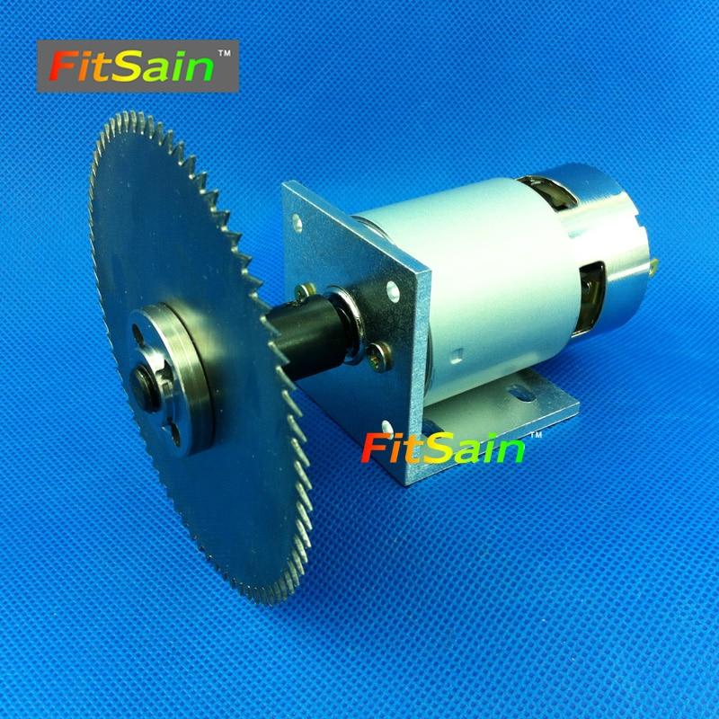 Электродвигатель для пилы DC24V 8000 об/мин 4