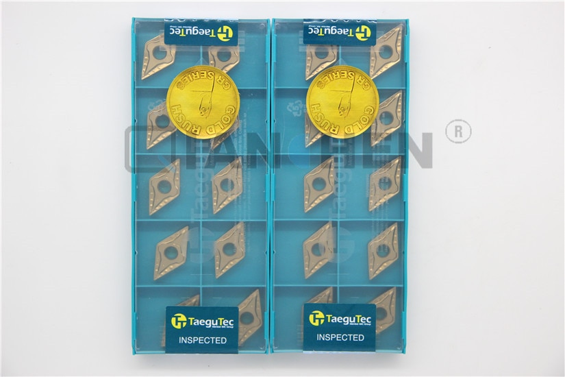 TaeguTec 、 10 ピース/ロット、旋盤ツール、 DNMG150404-MT TT5100 DNMG150404 MT TT5100 、超硬インサート、フェイスミル旋盤ツールカッター CNC ツール