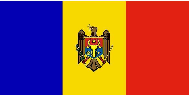 Freies verschiffen Moldawien flagge 90*150cm Hängen Moldawien Nationalen flagge Moldawien flagge