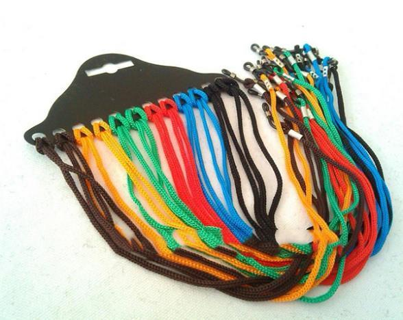 Colorful Mix Colors 12pcs Nylon Cord Rope Eyewear Sunglasses Glass Neck Landyard Strap